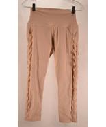 ALO Womens Yoga Pull On Crop Legging Mesh S - $49.50