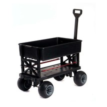 Garden Beautification Tool Weatherproof All Terrain Cart with Flat Free... - $142.88