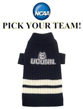 NCAA Pet Sweater * PICK YOUR TEAM * Collegiate College Football Puppy Do... - €19,24 EUR