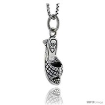 Sterling Silver Sandal Pendant, 5/8 in  - $39.53