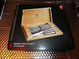 Zwilling® J.A. Henckels 8 Piece Stainless Steel Steak Knife Set Presentation Box - $95.00