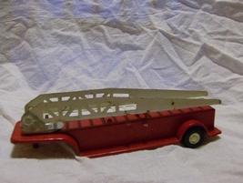 Older Tonka Fire Truck Back w/ladder Trailer  - $7.00