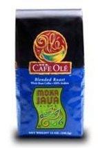 HEB Cafe Ole Whole Bean Coffee 12oz Bag (Pack of 3) (Moka Java - Medium Dark Roa - $48.49