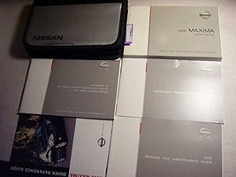2005 Nissan Maxima Owners Manual [Paperback] Nissan - $8.40