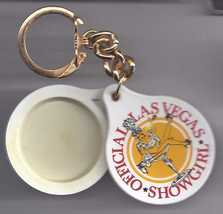 Officical LAS VEGAS  Showgirl Solid Perfume (Emptied Out) Keychain - $7.95