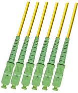 OUTDOOR SC-SC 10M 6 STRAND APC 9/125 SINGLEMODE FIBER OPTIC CABLE 10 METER - $93.49