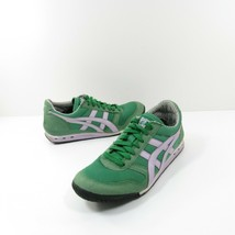 Asics Onitsuka Tiger Womens Size 6.5 Green White Athletic Sneakers Shoes... - $29.69