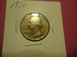 1970  WASHINGTON QUARTER      >>>    COMBINED SHIPPING - $2.00