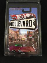 2012 Hot Wheels Boulevard Legends METRORAIL METROPOLITAN NASH RR w/ PROT... - €7,93 EUR