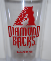 ARIZONA DIAMONDBACKS 4PC PLASTIC PINT SET 16OZ TUMBLER GLASS CUP MADE IN... - $7.99