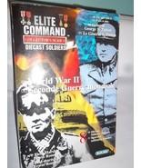 Infantry ELITE COMMAND Diecast Soldiers US 3 Army & German Patton Rommel - $23.22