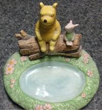 Cutest Winne the Pooh & Piglet Soap Dish Spring... - $25.16