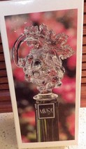 MIKASA Wine Bottle Stopper Fruit Collection Grapes and Leaf Austrian Crystal MIB - $19.35