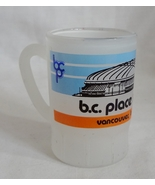 BC Place Stadium Vancouver BC Canada Frosted 2 oz Shot Glass Barware Min... - $2.99