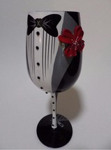 Top Shelf Wine Glass Wedding Groom Usher Groomsman Best Man Tuxedo MIB - $34.60 CAD