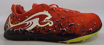 Puma Crossfox XCS Men's Track Shoes Size US 13 M (D) EU 47 Red Black