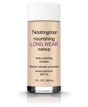 Neutrogena Nourishing Long Wear Makeup, Shade 60 Natural Beige Tone Correcting - $10.88