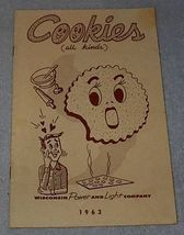 Recipe Cook Book, Cookies all kinds - $5.00