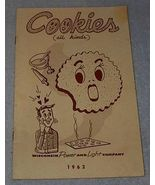 Recipe Cook Book, Cookies all kinds - $4.00