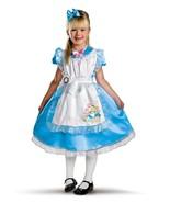 """Girl's """"Alice"""" Disney Deluxe Alice in Wonderland Halloween Costume Size ... - $51.63 CAD"""