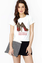 Leopard Pumps T-shirt (14-001) - $21.95