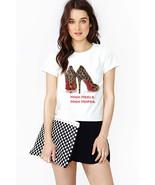 Leopard Pumps T-shirt (14-001) - $21.95