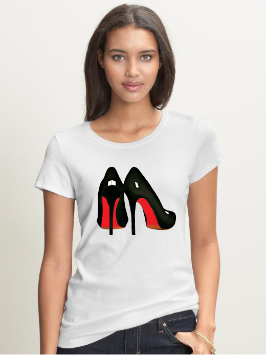Primary image for Red Bottoms T-shirt (15-015)