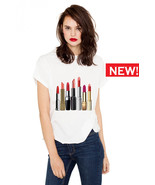 Crazy About Lipstick T-shirt (15-203) - $21.95