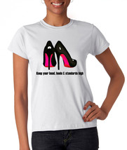 Red Bottom High Heels T-shirt (14-006) - $21.95