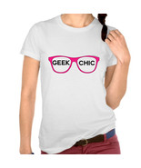 Geek Chic Glasses Tshirt  (14-043) - $21.95