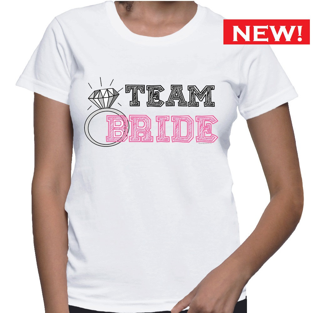 Primary image for Team Bride T-shirt (15-205)