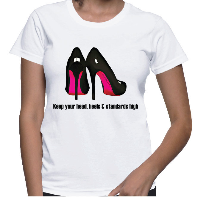 Red Bottom High Heels T-shirt (14-006)