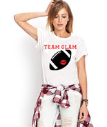 Team Glam Football Tshirt  (14-044) - $21.95