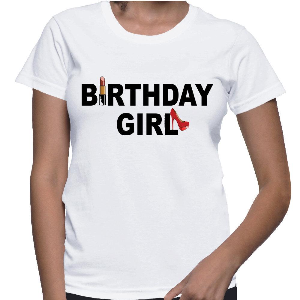 Birthday Girl T-shirt (15-209)