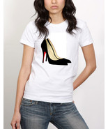 Black Pumps with Red Bottoms Tshirt  (14-039) - $21.95