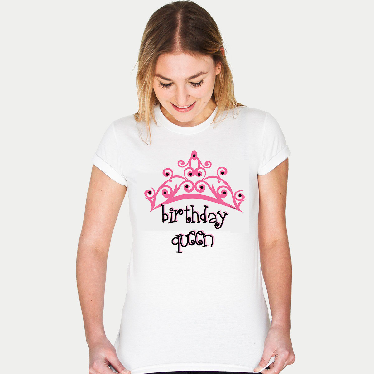 Primary image for NEW! Birthday Queen T-shirt (15-202)