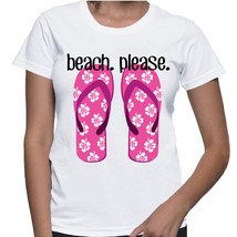 Beach Please T-shirt (15-018) - $21.95