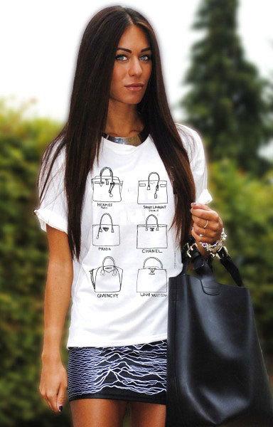 Designer Handbags T-shirt (14-010)