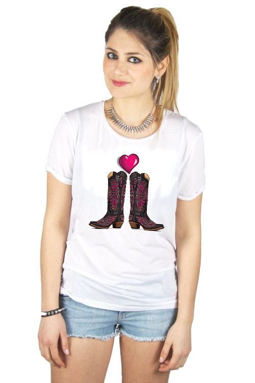Primary image for Cowgirl Tshirt  (15-010)