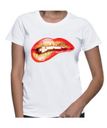Red & Gold Lips Tshirt (15-012) - $21.95