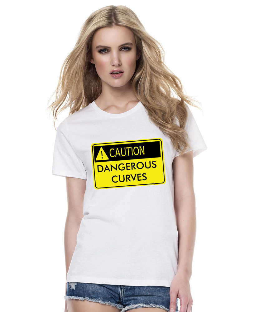 Primary image for Dangerous Curves Tshirt  (15-008)