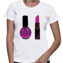 Lipstick & Nail Polish Tshirt  (15-006) - $21.95