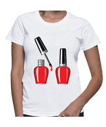 Red Nail Polish Tshirt  (15-004) - $21.95
