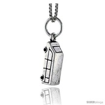 Sterling Silver Van Pendant, 5/8 in  - $54.83