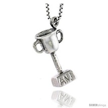 Sterling Silver Trophy Pendant, 5/8 in  - $46.67