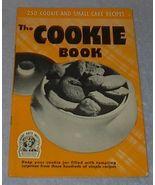 Recipe Cook Book, Culinary Arts Institute, The Cookie Book  - $4.00