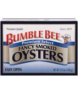 Bumble Bee Smoked Oysters,  3.75 oz can 4 cans - $15.00