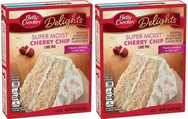 Betty Crocker Delights Super Moist Cherry Chip Cake Mix 15oz  - $12.99