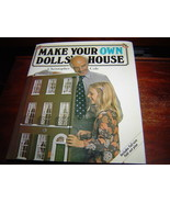 *VERY GOOD COND* Make Your Own Doll House DOLLHOUSE by Christopher Cole ... - $9.74