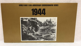World War II Stamps 50th Anniversary 1994 Set Series w/ Folder WWII USPS... - $12.86